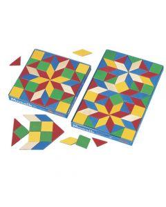 Cuburi Mozaic, Haba, 44 Piese, 3ani+