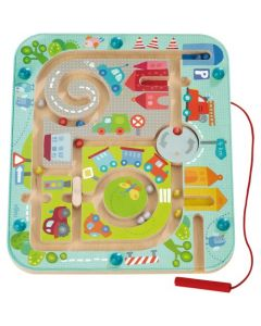 Joc magnetic, Haba, Labirintul din oras, 2ani+
