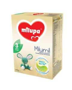 Lapte praf Milupa Milumil 3, 600g, 9-12 luni