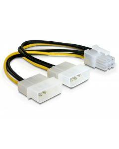 CABLU ALIMENTARE PLACA PCI EXPRESS 6 PINI, DELOCK 82315