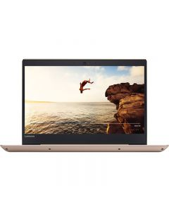 Laptop Lenovo 14'' IdeaPad 520S IKB, HD, Intel® Core™ i3-7100U, 4GB DDR4, 1TB, GMA HD 620, Win 10 Home, Champagne Gold