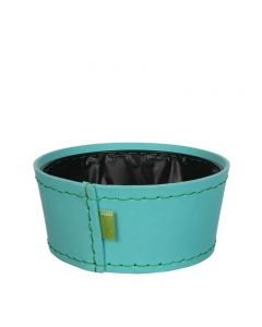 Ghiveci din spuma flexibila, H11XD24 cm, albastru