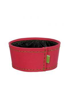 Ghiveci din spuma flexibila, H11XD24 cm, roz