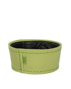 Ghiveci din spuma flexibila, H11XD24 cm, verde