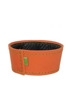 Ghiveci din spuma flexibila, H11XD24 cm, portocaliu