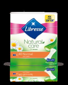 Absorbante zilnice Libresse Natural Care Normal, 40 bucati