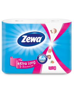 Role bucatarie Zewa Extra Long 2 straturi, 2 role