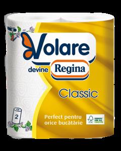 Prosop bucatarie Volare Classic, 2 straturi, 2 role