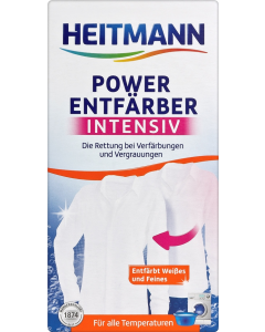 Decolorant rufe power Heitmann, 250 gr