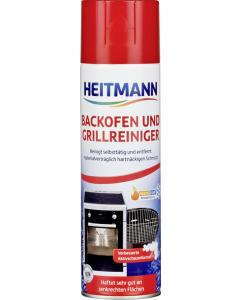 Degresant spuma activa pentru curatarea cuptorului si gratarului Heitmann, 500 ml