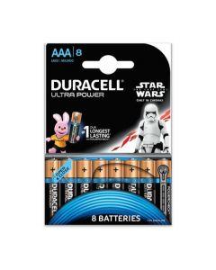 Set x 8 baterii AAA LR03 Ultra Power, Duracell