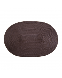 Placemat 30x45 cm oval gri