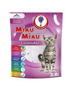 Asternut silicatic Miau Miau Lavanda 3.8l