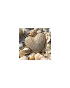 Set 20 servetele 33x33 cm, Stone Heart