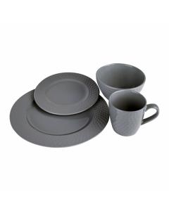 Set vesela 16 piese malta ceramica, Heinner