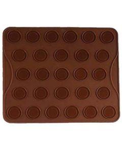 Tava silicon macarons/fursecuri, 27 forme, Vanora