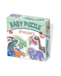 Baby puzzle Dino - 2,3,4 piese