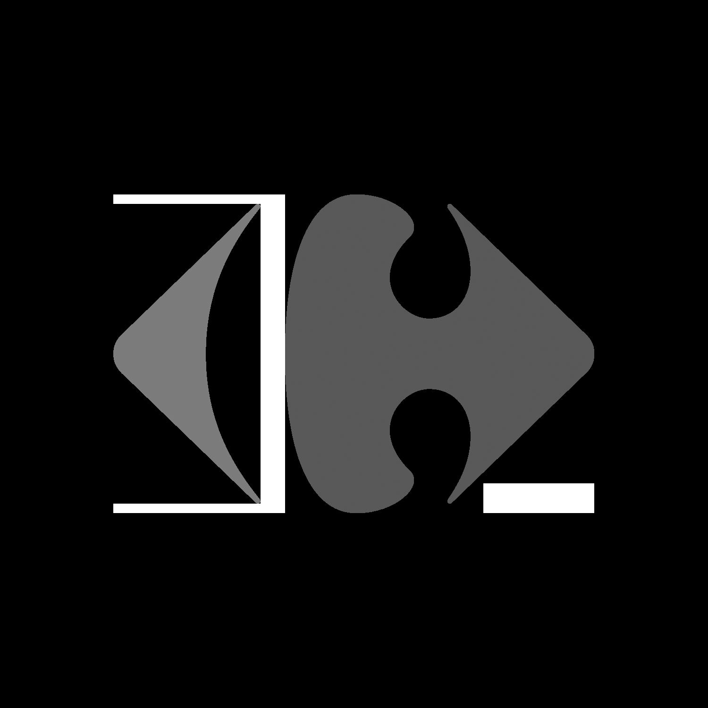 Troler ABS, 51 cm, 2 roti, negru, Carrefour