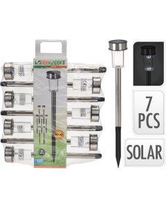 Set x 7 lampi solare