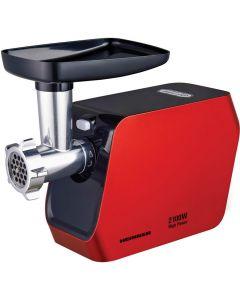 Masina de tocat MG-2100RD Heinner, 2100W, cutit inox, rosu