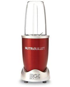 Nutribullet Red Delimano, 5 piese, 600 W, zdrobire gheata, motor cu actiune ciclonica