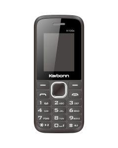 Telefon mobil K106 S Karbonn, Negru, Dual Sim