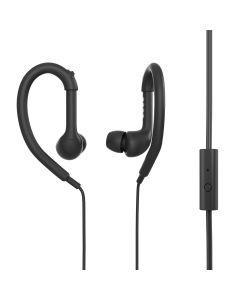 Casti In-ear PSINTSP1 BK Poss, 1.2m, microfon, jack 3.5mm, Negru