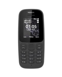 Telefon mobil Nokia 105 (2017), Negru, Dual Sim