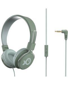 Casti on ear PSH186GG Poss, Cu fir, 32 ohm, Verde deschis