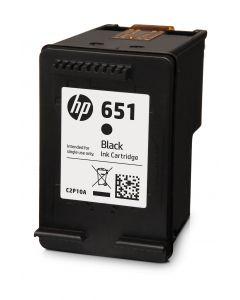 Cartus NR.651 C2P10AE Original HP, Negru