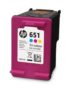 Cartus NR.651 C2P11AE Original HP, Color
