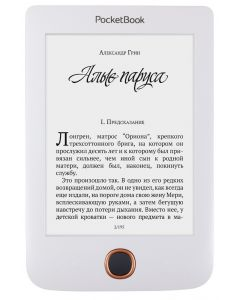 E-reader PocketBook Basic 3, 8GB, 1300mAh, microSD, Alb