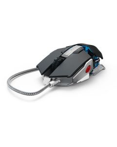 Mouse gaming Urage Metalic Hama, Plug and Play , 7000 dpi, Senzori optici