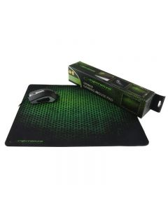 Mouse pad gaming, suprafata anti-alunecare, 44x35 cm, Grunge Esperanza