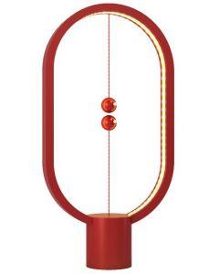 Lampa Ellipse Allocacoc, USB, Rosu
