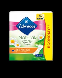 Absorbante zilnice Libresse Natural Care Normal, 58 bucati