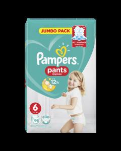 Scutece chilotel Pampers Pants Jumbo Pack, Marime 6, 15+ kg, 44 buc