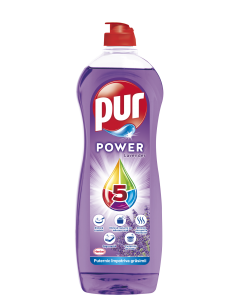Detergent de vase Pur Power Lavanda, 900 ml