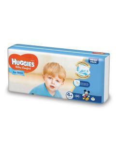 Scutece Huggies Ultra Comfort, nr 4+, 10-16 kg, Mega, 60 buc, pentru baieti