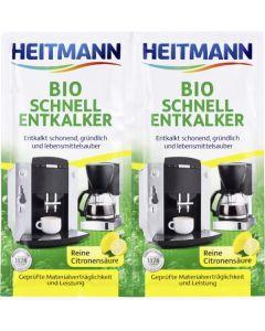 Bio decalcifiant aparate uz casnic Heitmann, 2x25 gr