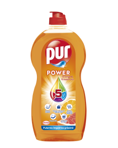 Detergent de vase Pur Power Orange & Grapefruit, 1.35 L