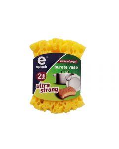 Burete abraziv ultra strong Epack, 2 buc.