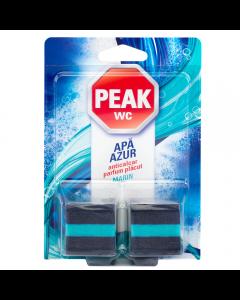 Tablete anticalcar pentru bazin Peak WC Apa Azur, 2buc x 50 gr