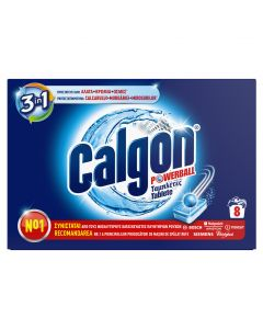 Tablete anticalcar Calgon Powerball, 8 buc