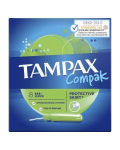 Tampoane Tampax Compak Regular cu aplicator, 8 buc