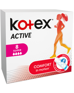 Tampoane Kotex Active Super, 8 buc