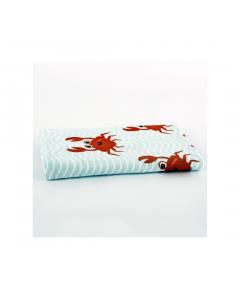 Prosop plaja copii 70x140 Crazy Crabs