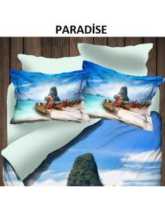 Lenjerie Digital 2 persoane, 200x220 cm, Paradise