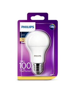 Bec Philips Led A60 100W E27 MAT 2700K