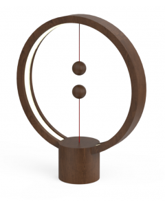 Lampa de veghe Heng Round Allocaco, Intrerupator magnetic, Maro inchis